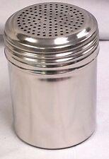 10 OZ Restaurant Stainless Steel DREDGE / SPICE / SALT / PEPPER SHAKER Well Made