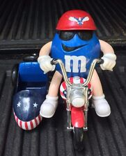 M & M Red, White and Blue Freedom Rider Candy Dispenser