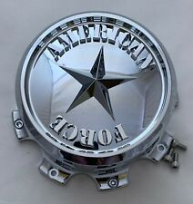 American Force Chrome Custom Wheel Center Cap pn n/a (1 CAP)