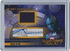 Marvel Guardians of the Galaxy COSMIC STRINGS Autograph Card CSA-2 KAREN GILLAN