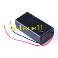 5x Reliable Great Switch Cover 9V Volt PP3 Battery Holder Box Case + Wire Lead