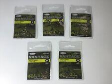 BARBLESS COARSE HOOKS PACKS OF 20 EYED HOOKS VARIOUS SIZES 8 10 12 14 16
