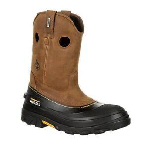 Georgia Boot GB00243 Composite Round Toe Waterproof Work Wellington *