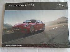 Jaguar F Type Coupe & Roadster brochure Apr 2017