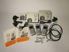 2x Siemens Gigaset SX445 isdn mit Anrufbeantworter und 1x Gigaset S44