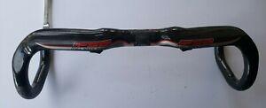FSA K-Wing Carbon Handlebar, 31.8mm Clamp, 44cm Width, Internal Routing, VGC