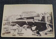 BIARRITZ  ancienne photographie Port des pecheurs  sur carton d'origine BERILLON