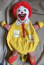 Ronald McDonald Backpack