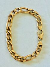 14K Yellow Solid Gold Italy Bracelet 8''