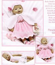 """lovely Dolls Clothes Dress Hat Shoes etc. DK 8-12"""" Laminated Knit Pattern"""