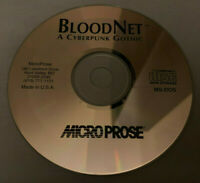BloodNet A Cyberpunk Gothic PC Computer CD MicroProse Video Game Disc Only RARE!