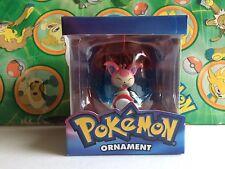 Pokemon Skitty Figure Christmas Ornament Poke ball New Xmas 2005         (plush