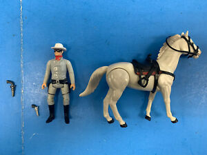 * GABRIEL THE LEGEND OF THE LONE RANGER AND SILVER ACTION FIGURES 1980  *H