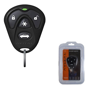 Avital 1-Way 4-Button Replacement Remote 1/4 Mile Range 7143L