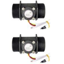 DN40 DN50 Water Flow Sensor Hall Flowmeter Meter Counter Measurement Instrument
