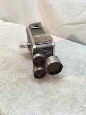 Vintage Kodak Brownie 8mm Turret Movie Camera f/1.9 Untested
