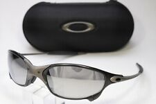 OAKLEY JULIET X-METAL TIO2 AND CARBON BLACK CUSTOM REFURBISHED WITH CASE USA