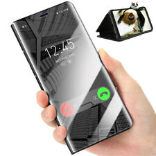 Flip Mirror View Case Cover for Sony Xperia XZ3 Premium Stand Leather Magnetic