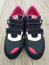 Primigi girl shoes trainers blue navy and pink 5.5-6 UK, 39 EUR