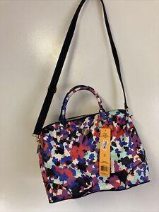 New Tory Burch Robinson Satchel Handbag  Oceanic 962 Extremely Rare Authentic