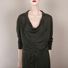 COS Damen Kleid S 36 Grün Polokleid Shirtdress Tasche Casual Style Freizeit