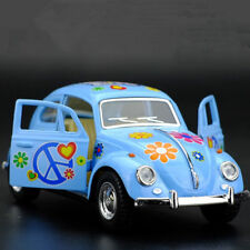 VW Beetle 1967 Painted Version Model Cars Toys 1:32 Gifts Alloy Diecast Sky Blue