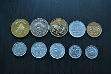 Nepal  SET COINS , 1 SET OF 10 COINS . UNC COIN MONEY ASIA CURRENCY