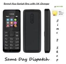 NEUF NOKIA 105-black (débloqué) téléphone mobile sans poussière cheap basic sans...