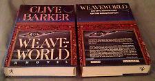 Weave World * Clive Barker * Horror * Books of Blood Author * HC/DJ * 1st/1st