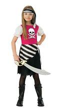 NWT 2 Piece Pirate Girl Costume w/ Dress & Headscarf M (8-10)