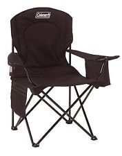 Coleman Camping Oversized Quad Chair with Cooler Outdoor Cooking Hunting Sports
