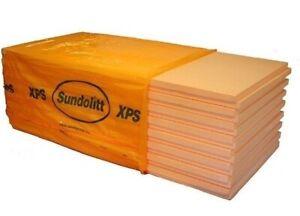 XPS Dämmung 60 mm Platten 5,25 - 52,5 m2 Perimeterdämmung 300 kpa ähnl. Styrodur