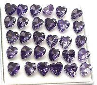 100 Carat Nice Looking Ggl Certificate Heart Cut Blue Tanzanite lot