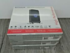 3 x Genuine Netgear WNDR3400 N600 Wireless 4-Port Dual Band Router New sealed