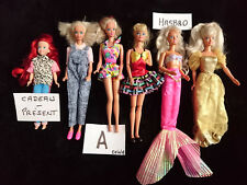 "Lots  N°A et  N°B - 10 Poupées BARBIE ""Vintage"" MATTEL  -  Fabrication China"