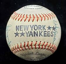 1978 NY YANKEES Signed AUTO Baseball (18) Sigs JSA LOA...Hunter Gossage E.Howard