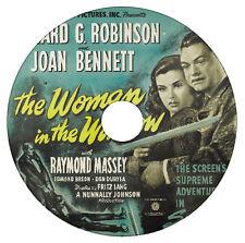 The Woman in the Window - Crime Drama - Edward G. Robinson Joan Bennett - 1944