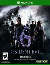 Xbox One game Resident Evil 6 HD NIP Package Shipping