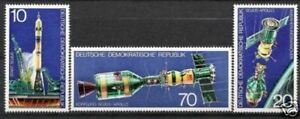 DDR Nr.2083/85 ** Sojus-Apollo 1975, postfrisch