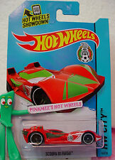 P/Q 2014 i Hot Wheels SCOOPA DI FUEGO #16✿Red;Green/White;Soccer/Mexicana Futbol