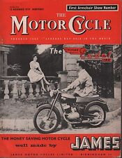 The Motor Cycle November 12 1959 Flying Codet 150 James, Armchair 071717DBE