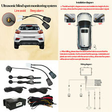 NEW Car Blind Spot Monitoring Radar Detection System Ultrasonic Sensor Assistant