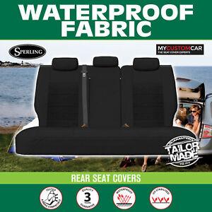 Mitsubishi Pajero NS,NT,NW,NX 2006-On Waterproof Fabric REAR (ROW3) Seat Covers