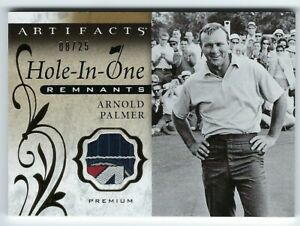 2021 Upper Deck Artifacts Golf Hole-in-One Remnant Premium /25 Arnold Palmer