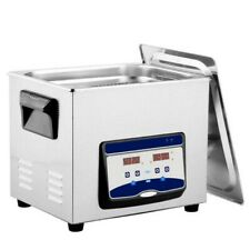 30l Digital Ultrasonic Cleaner Jewelry Ultra Sonic Bath Degas Parts Cleaning Us