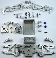 Dhawk Racing Aluminum Conversion Kit Silver For Team Associated RC10 Worlds Car