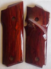 SMITH & WESSON MODEL 59 TARGET GRIPS WITH COCOBOLO ROOT WOOD S-21 L@@k
