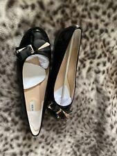 Guess Black Loafers Slip-on Flats New Size EU 40 / UK 7
