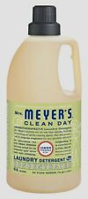 New 64oz Mrs Meyer's LEMON VERBENA High Efficiency Liquid Laundry Detergent Soap
