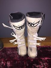 Berik Motorcycle Boots Black/White Size 45 US 11